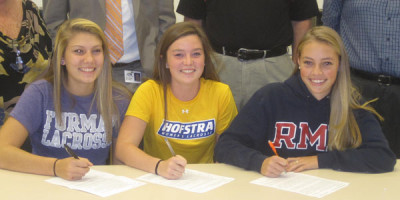 MHS Girls Lacrosse Players Sign Letters Of Intent