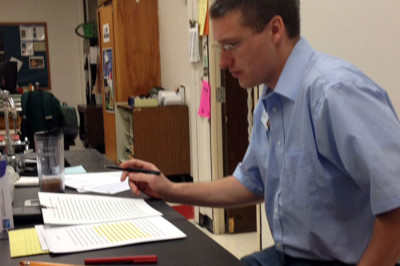 MHS physics teacher donates organ, changes a life