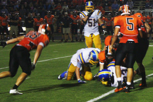 Rinehart carries the Knights to victory over the Lions