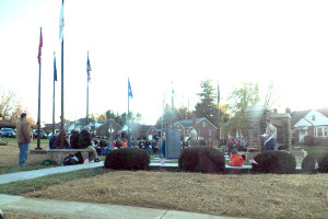Memorial honors those who have served
