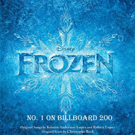 Frozen soundtrack No. 1 on Billboard 200