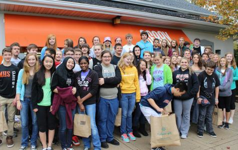 Government students lend a hand at SERRV