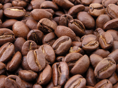 Coffee beans ready for production.