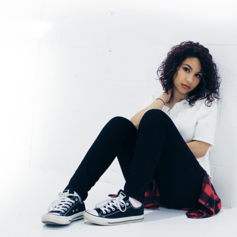 Alessia Cara poses for a photo shoot.