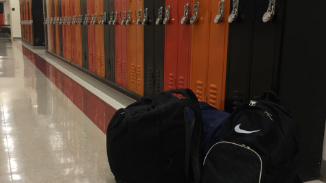 Backpacks put a strain on students' bodies