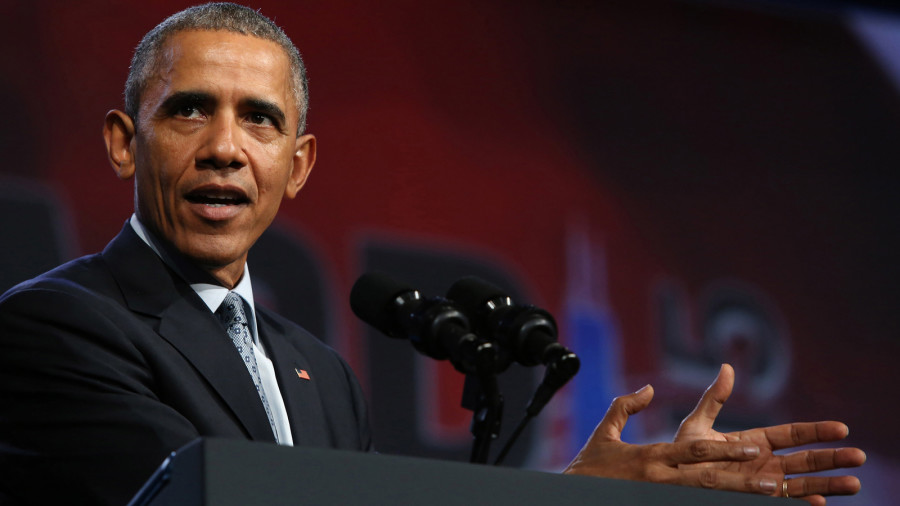 President Barack Obama announces campaign to limit standardized testing