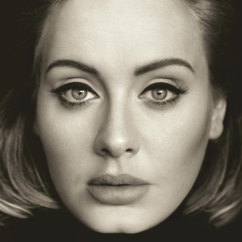 The cover art for Adele's new album 'Hello'.