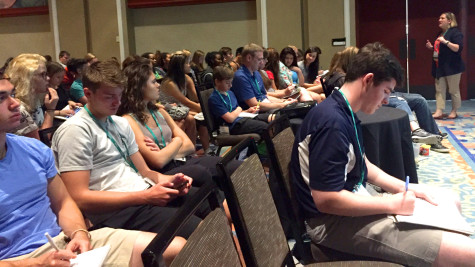 Students from across the country visit  Florida for the JEA National Journalism Convention