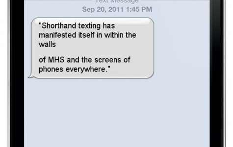 Shorthanded texting: sometimes K, sometimes not