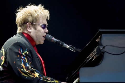 "Elton John's new album came out in one ""Wonderful Crazy Night"""