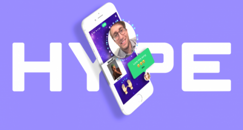 Promotional image used for Hype, a new livestreaming site from the creators of Vine.