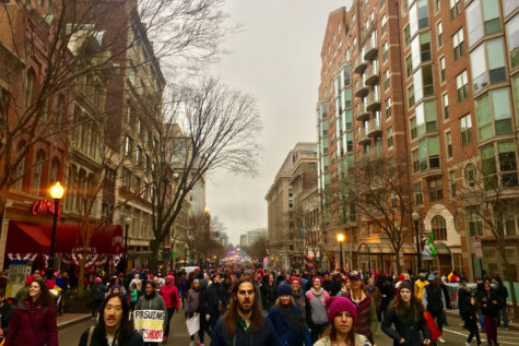 Reflecting on the Women's March on Washington on International Women's Day