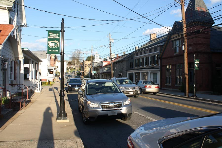 Main Street in Middletown is getting a new look