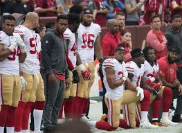 Column: Kneeling in the NFL causes uproar