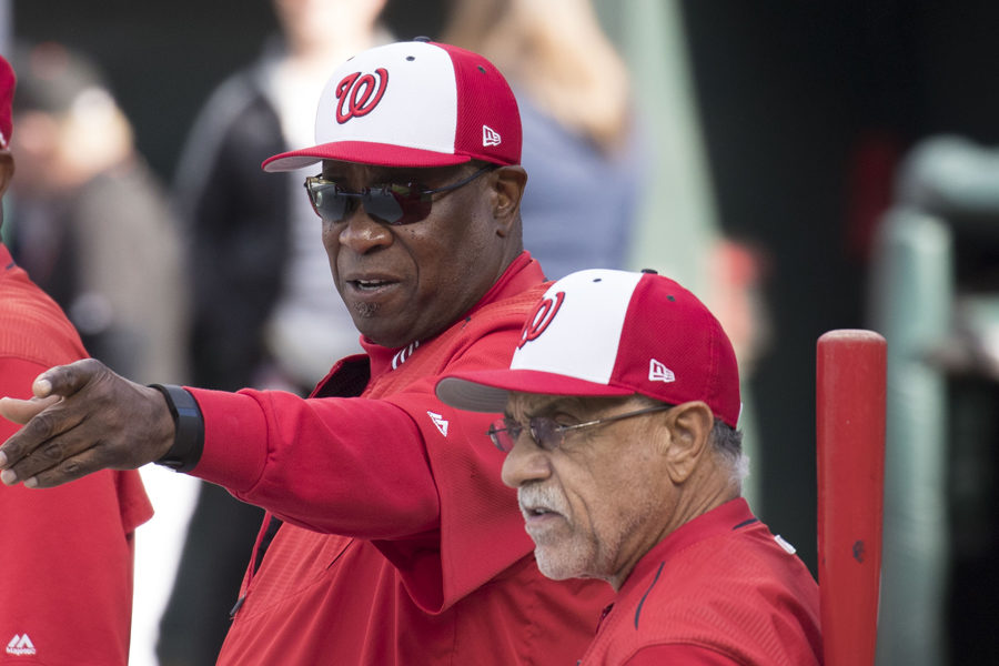 Dusty Baker was recently fired as manager of the Washington Nationals.
