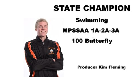 Stafford swims his way to the top of the podium in MPSSAA 3A-2A-1A Swimming Championships