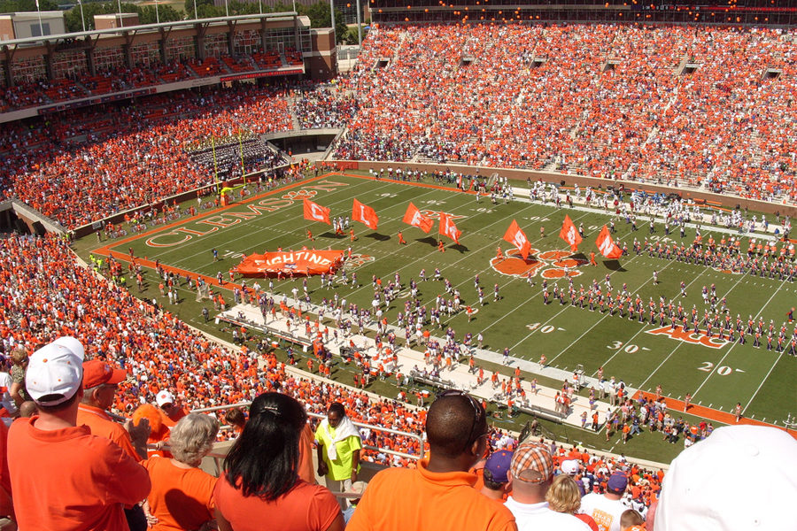 Clemson to face Notre Dame in the Goodyear Cotton Bowl.