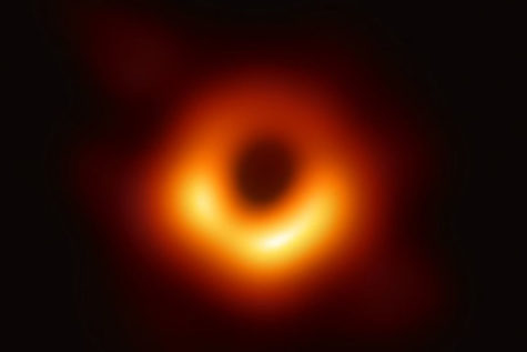 Reaction: First photograph of a black hole