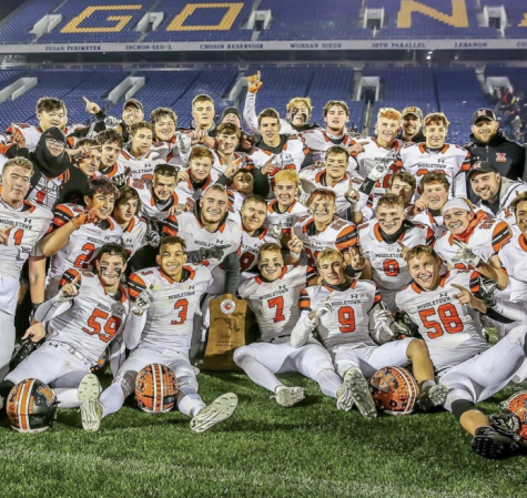 MHS football team wins state championship