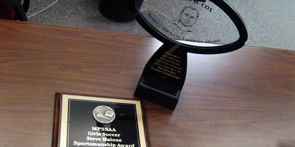 Middletown wins two sportsmanship awards