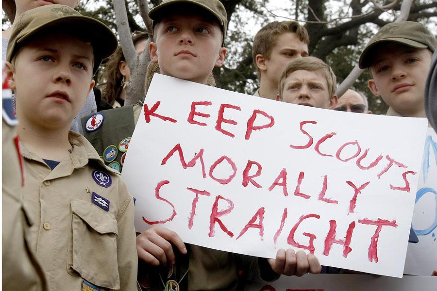 MHS reacts to Boy Scouts debate