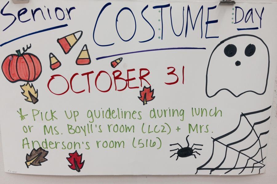 Senior costume day creeps up fast