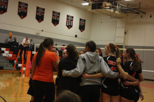 Volleyball: Knights look to move on in the state tournament