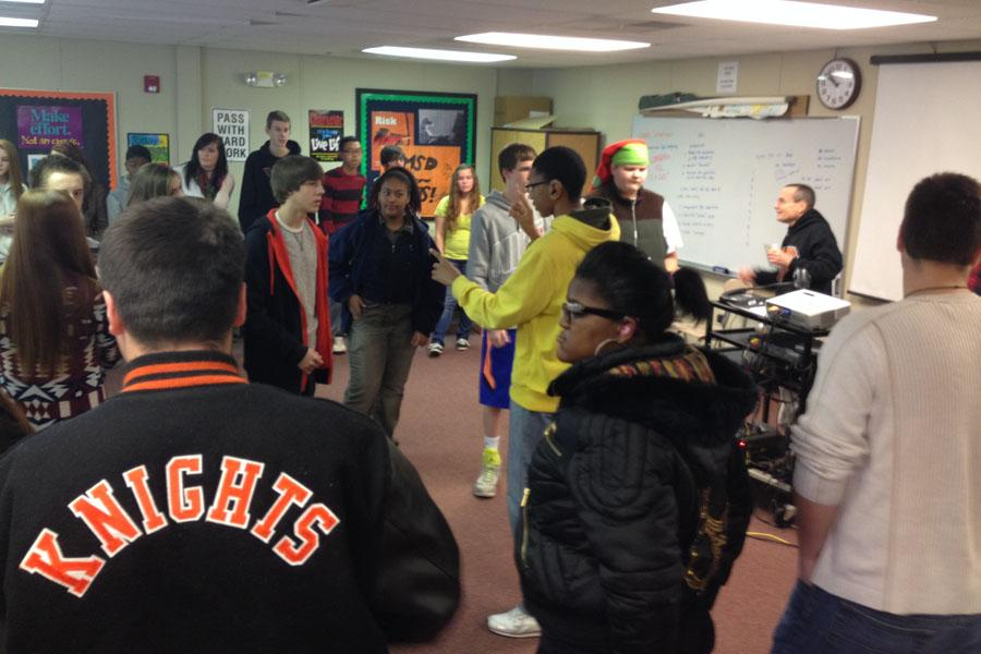 A visit brings learning opportunities to MHS