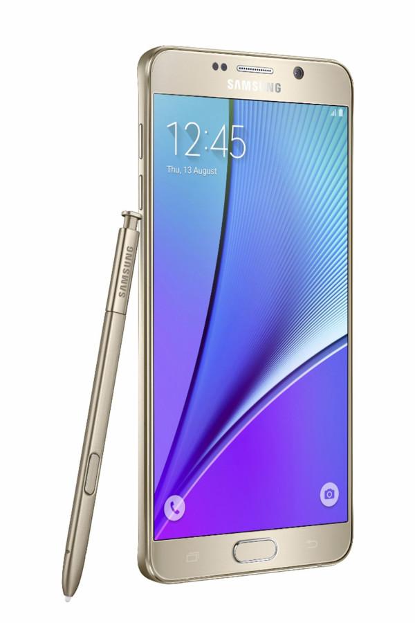 The Samsung Galaxy Note 5. (Samsung)