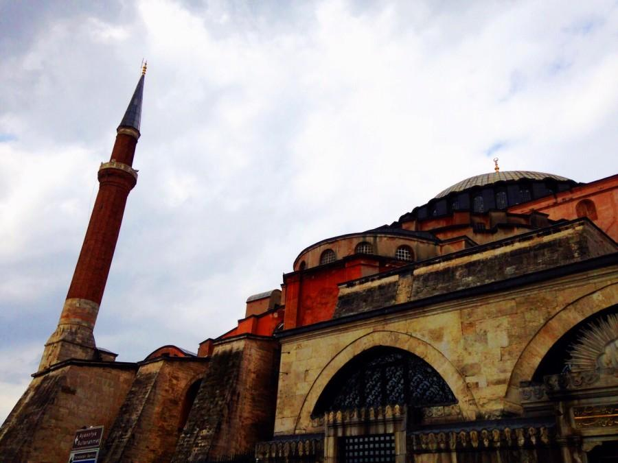 The Hagia Sofia stands tall and mighty in the center of Turkey's most prominent city.