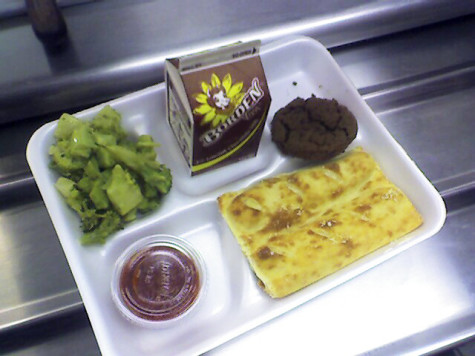 School lunches feed the common unhealthy diet of kids