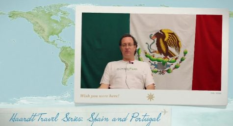 Mr. Haardt shares his trip to Europe