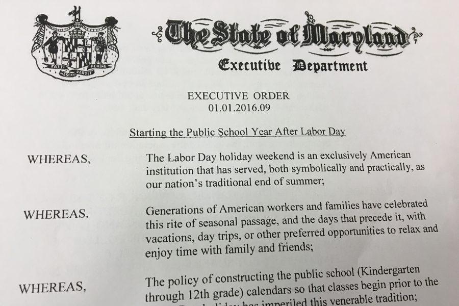 Labor Day executive order raises local concerns