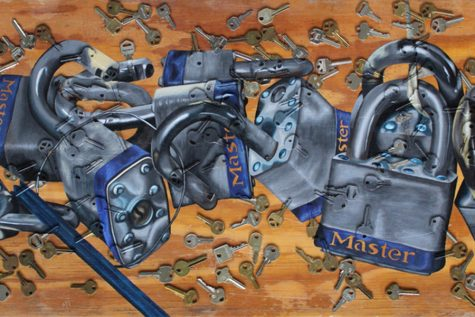 """Locks and Keys"" locks first place for MHS teacher in national art competition"
