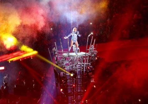 "Gaga's ""super"" Super Bowl performance"