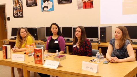 Young adult authors visit Middletown High school