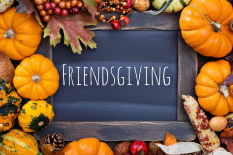"Middletown High School student's celebrate fall fad ""Friendsgiving"""