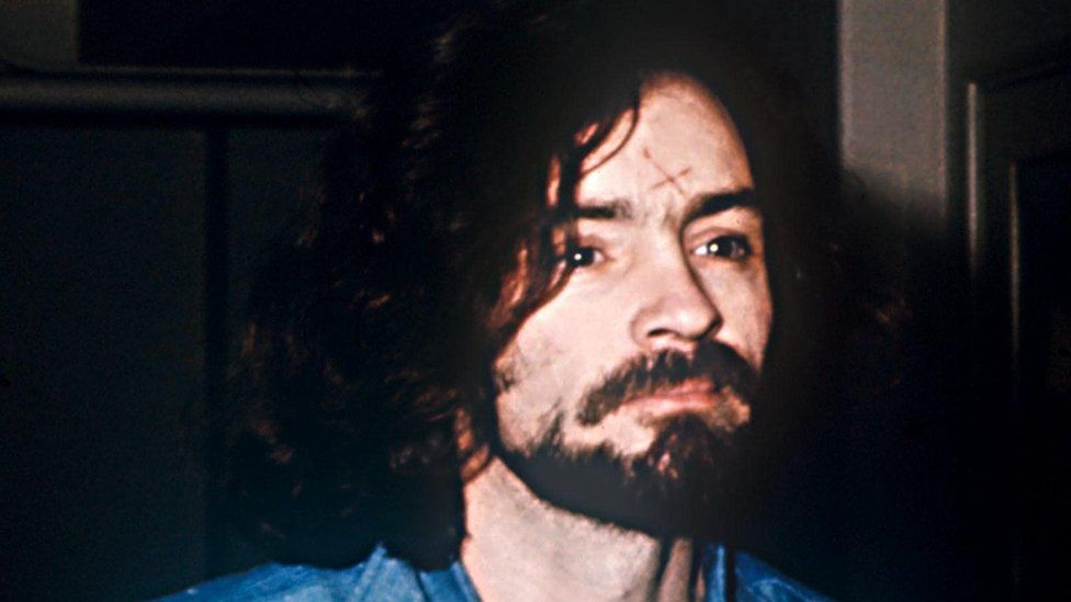 Cult leader Charles Manson in 1969.