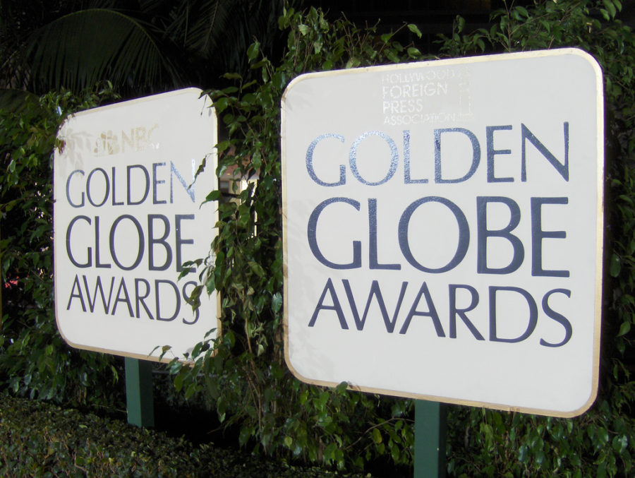 The+golden+figures+of+Hollywood+gathered+this+year+at+the+Golden+Globes.+Despite+the+name+the+theme+was+a+blackout.