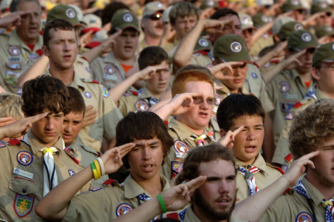 Scouting for civility with Middletown boy scouts