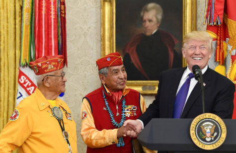 "Reactions: Donald Trump ""thanks"" Navajo Code Talkers"