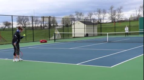 Highlights: Varsity tennis 4.16.18