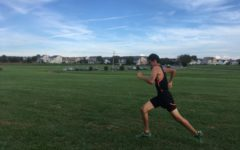 MHS boys cross country team nearly wins home meet
