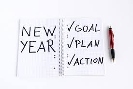 The new year brings in new resolutions
