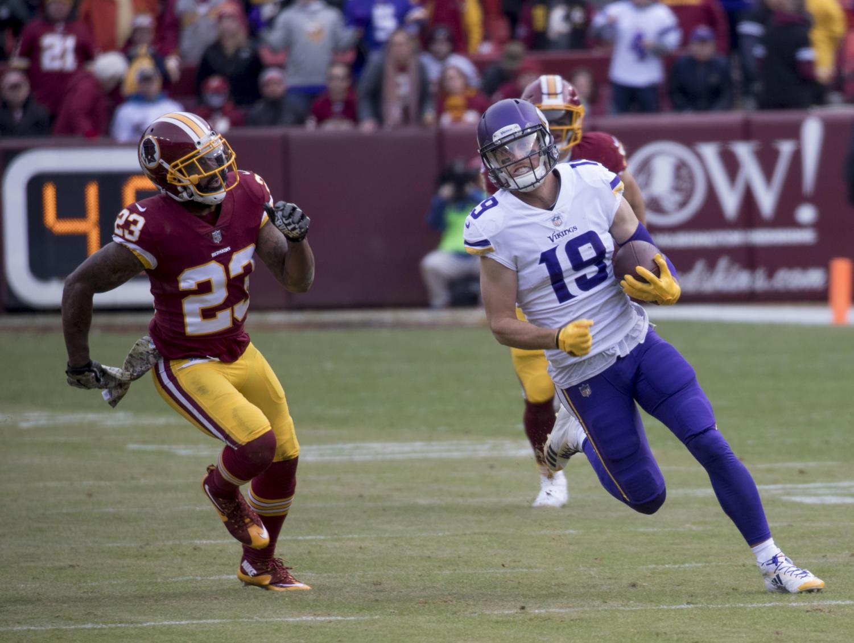 Vikings at Redskins 11/12/17