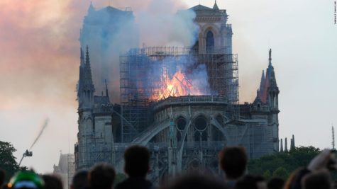 Notre Dame Cathedral caught fire, MHS students react