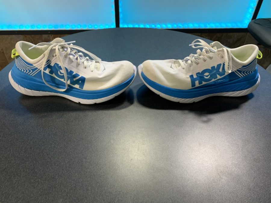 Hoka One One Carbon X, shoes used by Jim Wamesly in 50 mile world record