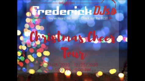 Frederick DJs spread holiday cheer