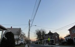 Pictured above is Main street Myersville, the location where one of the two breaks occurred.