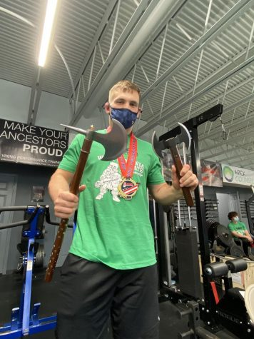 MHS Alumnus Sean Mullican Competes in Power-lifting State Championship